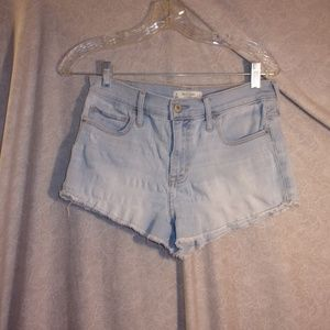 Abercrombie & Fitch womens demin shorts sz 6